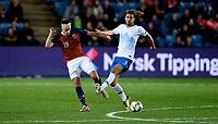 Fotball, 13. oktober 2018 , Nations League , Norge - Slovenia , <br /> Norway - Slovenia<br /> Markus Henriksen ,  Norge<br /> Rene Krhin , Slovenia