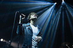 © Licensed to London News Pictures. 03/06/2014. London, UK.   Paolo Nutini performing live at The Roundhouse.   Paolo Nutini is a Scottish singer, songwriter and musician.  Paolo Nutini's debut album, These Streets, released in the UK in 2006, was certified 5 x platinum  by the British Phonographic Industry and the album remained in the charts for 196 weeks.  Paolo released is third studio album, Caustic Love, in April 2014 which has received extremely positive reviews.  Photo credit : Richard Isaac/LNP
