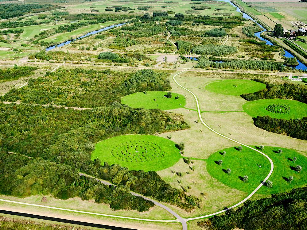 Nederland, Zuid-Holland, Benthuizen, 14-09-2019; Benthuizen, Golfbaan Bentwoud.<br /> Golf course Bentwoud.<br /> luchtfoto (toeslag op standard tarieven);<br /> aerial photo (additional fee required);<br /> copyright foto/photo Siebe Swart