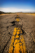 Image of a road along the NORRA 1000 rally route in the Baja Peninsula, California del Sur, Mexico by Randy Wells