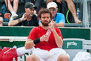 Ernest Gulbis (lat) during the Roland Garros French Tennis Open 2018, Preview, on May 21 to 26, 2018, at the Roland Garros Stadium in Paris, France - Photo Pierre Charlier / ProSportsImages / DPPI