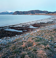 Maritime naturbilder fra Kvalneset på Giske i Giske kommune. Utsikt fra Kvalneset i retning Ocean Sound Recordings.<br /> <br /> Landscape pictures from Kvalneset at Giske. <br /> Foto: Svein Ove Ekornesvåg