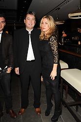 NIALL HOWARD CEO of Hakkasan and MEG MATTHEWS at a dinner to celebrate the work of Malaria No More UK held at Hakkasan Mayfair, 17 Bruton Street, London W1 on 16th November 2010.