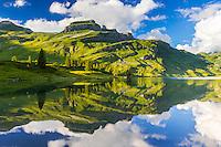 © Thomas Heitmar / www.thomasheitmar.com<br /> <br /> Rights: All images copyright © Thomas Heitmar. All rights reserved. Do not reproduce in whole or in part without prior written permission.<br /> <br /> ---------------------------------<br /> <br /> Engstlensee im letzten Abendlicht.<br /> Der Engstlensee ist ein natürlicher Stausee auf der Engstlenalp im Kanton Bern in der Schweiz. Höhe über dem Meeresspiegel: 1'851m, Fläche: 44 ha