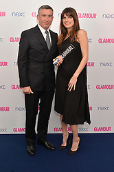STEVE COOGAN and LAKE BELL at the Glamour Women of The Year Awards in Association with Next held in Berkeley Square Gardens, Berkeley Square, London on 3rd June 2014.