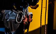 A tool belt warn by a worker in the Pilbara region of Western Australia.