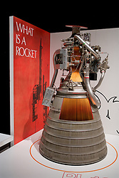 Rocket Engine Exhibit, Air and Space Museum