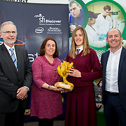 27.04.2016.          <br />  Kalin Foy and Ciara Coyle win SciFest@LIT<br /> Kalin Foy and Ciara Coyle from Colaiste Chiarain Croom to represent Limerick at Ireland's largest science competition.<br /> <br /> Laurel Hill Coláiste FCJ students, Cáit Ní Dhomhnaill and Kelly Niclot's project, An Affordable Water Conservation System won the Limerick Council Environment Award.  Kelly Niclot is  pictured with George Porter, SciFest, Sinead McDonnell, Limerick City and County Council and Brian Aherne, Intel<br /> <br /> Of the over 110 projects exhibited at SciFest@LIT 2016, the top prize on the day went to Kalin Foy and Ciara Coyle from Colaiste Chiarain Croom for their project, 'To design and manufacture wireless trailer lights'. The runner-up prize went to a team from John the Baptist Community School, Hospital with their project on 'Educating the Youth of Ireland about Farm Safety'.   Picture: Alan Place