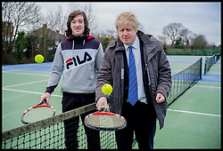 Image ©Licensed to i-Images Picture Agency. 31/01/2015. London. Boris Johnson Campaigning in Uxbridge. Picture by Andrew Parsons / i-Images