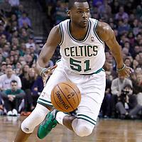 04 March 2012: Boston Celtics point guard Keyon Dooling (51) dribbles during the Boston Celtics 115-111 (OT) victory over the New York Knicks at the TD Garden, Boston, Massachusetts, USA.
