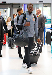 Divock Origi and The Liverpool Football Team fly out of Manchester Airport to Hong Kong on Sunday morning.