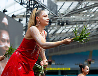 Welcome to Country at Fire Fight Australia at the  ANZ Stadium Sydney Australa 16 Feb 2020 Photo BY Rhiannon Hopley
