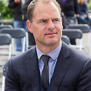 NLD/Amsterdam/20140504 - Dodenherdenking 2014 Olympisch Stadion, Ajax coch Frank de Boer