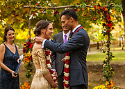 Sheena Wood marries Karan Mudgal at the Charles River Museum of Industry & Innovation on October 20, 2018.
