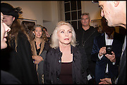 DEBBIE HARRY, Chris Stein / Negative: Me, Blondie, and The Advent of Chris Stein / Negative: Me, Blondie, and The Advent of Punk - private view, Somerset House, the Strand. London. 5 November 2014.