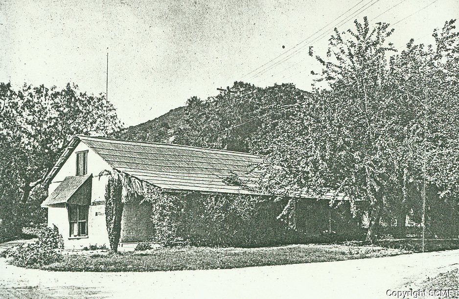 1909 Casa Don Tomas, built in 1853 by Tomas Urquidez, was the 1st adobe built in Hollywood. Located in what is now Outpost Estates
