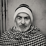 Portrait of Indian man in old town of Jaipur