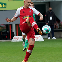 17.10.2020, Schwarzwald Stadion, Freiburg, GER, 1.FBL, SC Freiburg vs SV Werder Bremen<br />