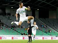Fotball<br /> 15.08.2012<br /> Slovenia v Romania<br /> Foto: Gepa/Digitalsport<br /> NORWAY ONLY<br /> <br /> Laenderspiel, Slowenien vs Rumaenien, Freundschaftsspiel. Bild zeigt den Jubel von Bostjan Cesar (SLO).