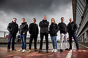 Eurosport BSB Team photographed at the BSB Silverstone press day.