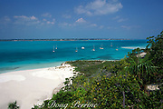 Georgetown Harbor,<br /> Exumas,  Bahamas,<br /> ( Western Atlantic Ocean )