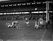 14/09/1958<br /> 09/14/1958<br /> 14 September 1958<br /> Junior Final: Cork v Antrim at Croke Park, Dublin.