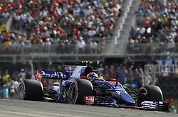 October 21, 2017 - Austin, United States of America - Motorsports: FIA Formula One World Championship 2017, Grand Prix of United States, ..#26 Daniil Kvyat (RUS, Scuderia Toro Rosso) (Credit Image: © Hoch Zwei via ZUMA Wire)