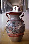 Painted and glazed Tonala pottery, Mexico.