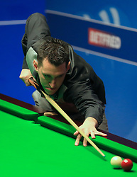 Tom Ford on day five of the Betfred Snooker World Championships at the Crucible Theatre, Sheffield.