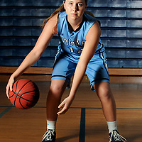 StarNews All-Area girls basketball player of the year, Hoggard High Schools Julia Buehler, photographed at Hoggard High School in Wilmington, NC on Tuesday, March 17, 2015. Staff Photo by Mike Spencer/StarNews