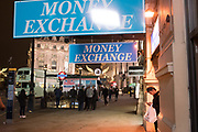 Money exchange,  London 15 November 2018