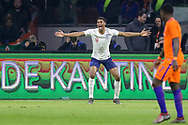 England forward Marcus Rashford appeals for a penalty foul during the Friendly match between Netherlands and England at the Amsterdam Arena, Amsterdam, Netherlands on 23 March 2018. Picture by Phil Duncan.