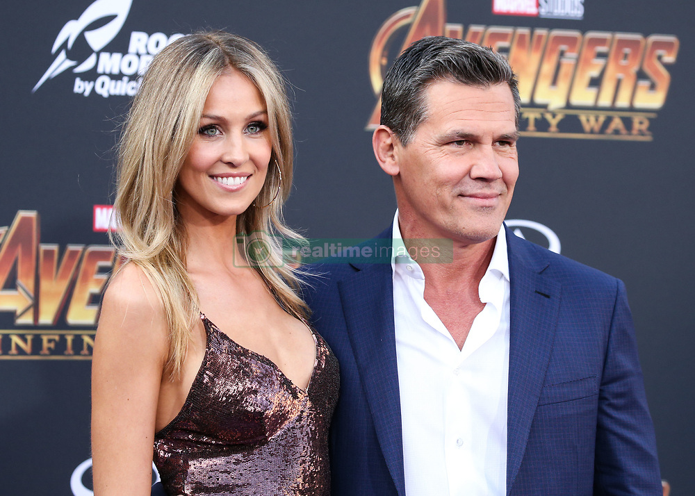 HOLLYWOOD, LOS ANGELES, CA, USA - APRIL 23: World Premiere Of Disney And Marvel's 'Avengers: Infinity War' held at the El Capitan Theatre, Dolby Theatre and TCL Chinese Theatre IMAX on April 23, 2018 in Hollywood, Los Angeles, California, United States. 23 Apr 2018 Pictured: Kathryn Boyd, Josh Brolin. Photo credit: Xavier Collin/Image Press Agency / MEGA TheMegaAgency.com +1 888 505 6342