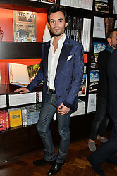 MARK-FRANCIS VANDELLI at a party to celebrate the launch of the Maison Assouline Flagship Store at 196a Piccadilly, London on 28th October 2014.  During the evening Valentino signed copies of his new book - At The Emperor's Table.