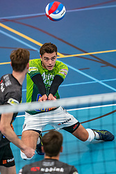 Rob Jorna #10 of Orion in action in the supercup semifinal between Draisma Dynamo – Active Living Orion on October, 03 2020 in Van der Knaaphal, Ede