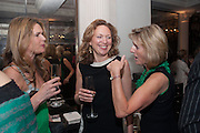 CELIA WALDEN; JESSICA FELLOWES; JULIET NICOLSON, Juliet Nicolson - book launch party for  her latest novel Abdication, about British society after the death of George V.  The Gallery at The Westbury, 37 Conduit Street, Mayfair, London, 12 June 2012