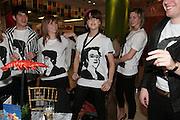 Olivia Althorne, Peaches Geldof and Lily Evan, Surrealism at Selfridges. London. 22 March 2007.  -DO NOT ARCHIVE-© Copyright Photograph by Dafydd Jones. 248 Clapham Rd. London SW9 0PZ. Tel 0207 820 0771. www.dafjones.com.