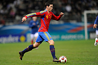FOOTBALL - UNDER 21 - FRIENDLY GAME - FRANCE v SPAIN - 24/03/2011 - PHOTO GUILLAUME RAMON / DPPI - ALVARO VAZQUEZ (SPA)