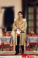 Portraits of Thai King Rama X - 04 May 2019