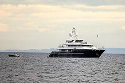 Tom Cruise boat off Pittenweem, Fife<br /> <br /> (c) David Wardle   Edinburgh Elite media