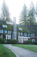 Scenic image of Lake Quinalt Lodge which sits on Lake Quinalt on the edge of Olympic National Park, WA.
