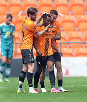 Football - 2020 / 2021 Vanarama National League - Barnet vs Sutton United - The Hive Stadium<br /> <br /> Josh Walker of Barnet celebrates scoring goal no. 2 with team mates<br /> <br /> Credit : COLORSPORT/ANDREW COWIE
