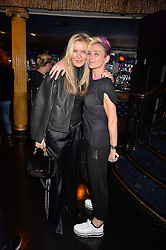Left to right, Amanda Wakeley and Jo Manoukian at the SheInspiresMe Dance in aid of Women for Women International held at the Café de Paris, 3 Coventry Street, London England. 25 January 2017.