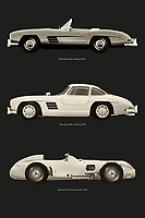 Mercedes is a name like clockwork in the world. Meredes-Benz has always brought high quality models to the market. Mercedes is synonymous with solidity, but with these models Mercedes has made its name in class and speed. –<br /> -<br /> BUY THIS PRINT AT<br /> <br /> FINE ART AMERICA / PIXELS<br /> ENGLISH<br /> https://janke.pixels.com/featured/mercedes-benz-most-legendary-models-jan-keteleer.html<br /> <br /> <br /> WADM / OH MY PRINTS<br /> DUTCH / FRENCH / GERMAN<br /> https://www.werkaandemuur.nl/nl/shopwerk/Mercedes-Benz-meest-legendarische-modellen/798248/132?mediumId=1&size=50x75<br /> –<br /> -