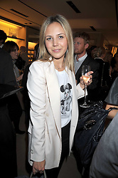 TANYA SCMIKOV at a party hosted by TOD's to celebrate the launch of the J.P.Loafer collection, held at the TOD's Boutique, 2-5 Old Bond Street, London on 31st March 2009.