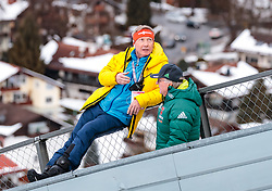 01.01.2018, Olympiaschanze, Garmisch Partenkirchen, GER, FIS Weltcup Ski Sprung, Vierschanzentournee, Garmisch Partenkirchen, Wertungsdurchgang, im Bild FIS Renndirektor Walter Hofer // FIS Race Director Walter Hofer during the Competition Jump for the Four Hills Tournament of FIS Ski Jumping World Cup at the Olympiaschanze in Garmisch Partenkirchen, Germany on 2018/01/01. EXPA Pictures © 2018, PhotoCredit: EXPA/ JFK