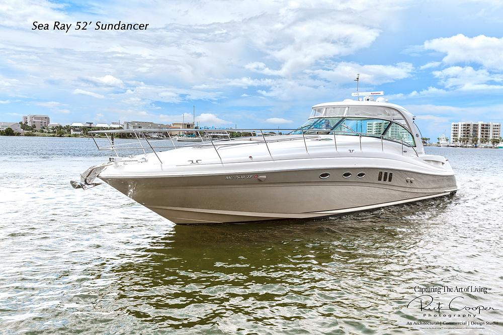 Images of a SeaRay 52 Sundancer Yacht