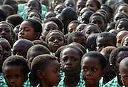 Schoolchildren in Gambia, West Africa