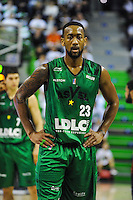 David Lighty  - 23.03.2015 - Lyon Villeurbanne / Dijon - 25e journee Pro A<br /> Photo : Jean Paul Thomas / Icon Sport