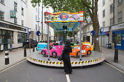 Somers Town Festival on 9th July 2016 in London, United Kingdom. Somers Town, a district in north west London, is a large housing estate nestled between Euston, St Pancras and Kings Cross Library. Predominantly filled with social housing for the past 200 years, much of the area's housing was built in the twentieth century by the local authority.